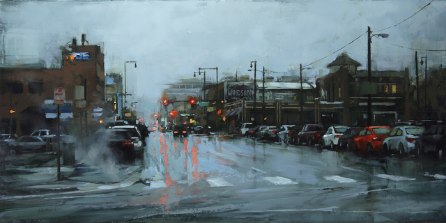 , 'Winter in Downtown,' 2018, Abend Gallery