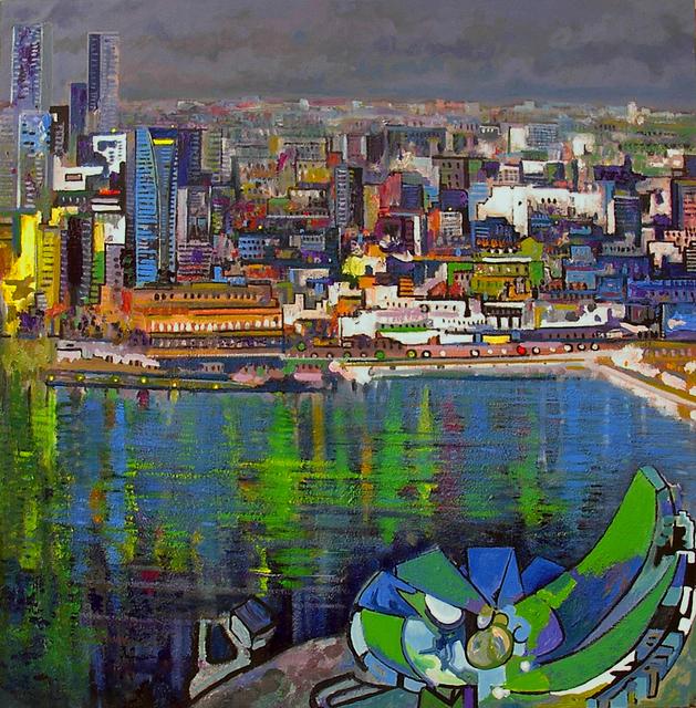 , 'Night in Singapore,' 2014, Barnadas Huang
