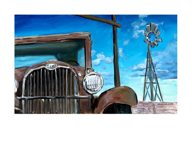 Bob Dylan, 'Wilton Iowa Farmyard (2019)', 2019, Castle Fine Art