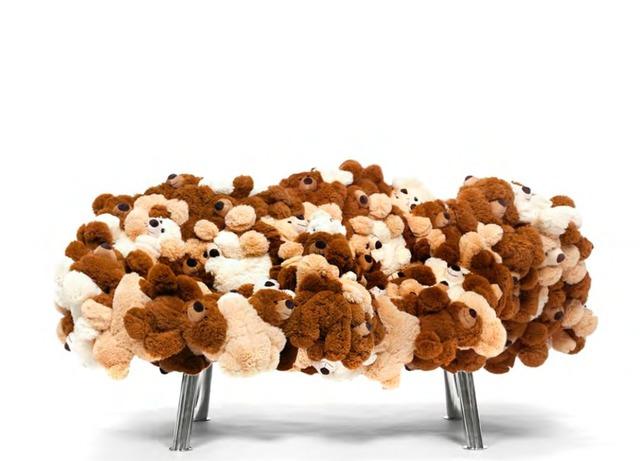 , 'Teddy Bear Sofa,' 2015, Galerie Clemens Gunzer
