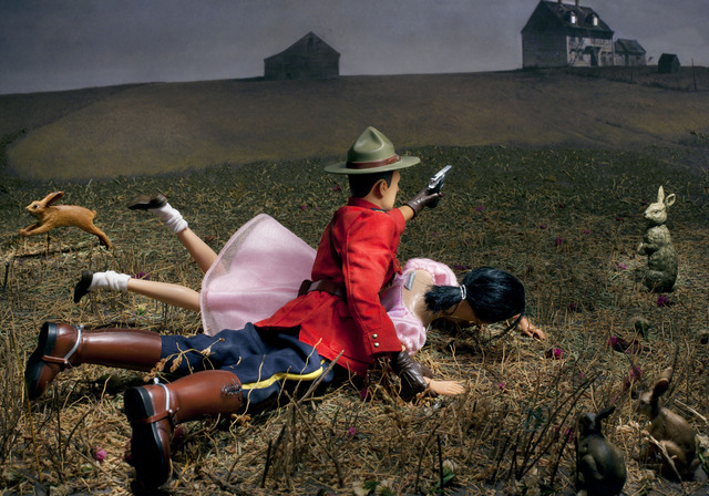 Diana Thorneycroft, 'Christina's World (gets turned upside down by Cpl. Dew Wright)', 2012, Art Mûr