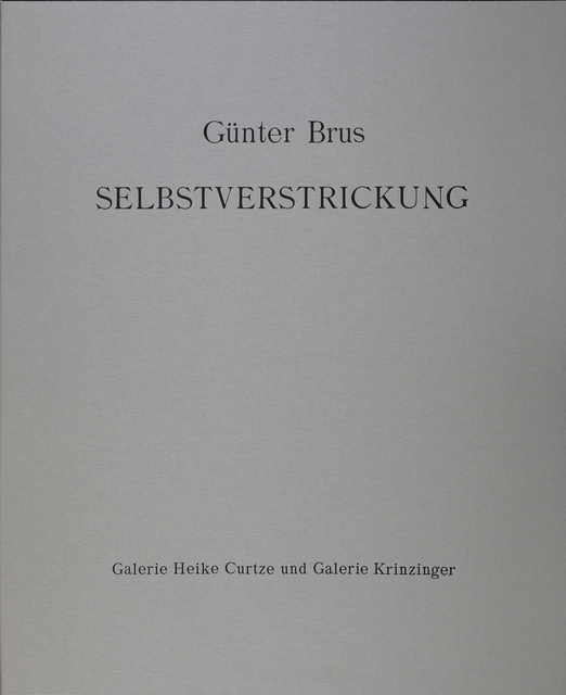 , 'Selbstverstrickung,' 1965 / 2013, Galerie Krinzinger