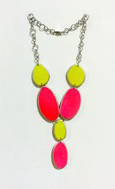 , 'Pink & Yellow Necklace,' 2015, Pan American Art Projects