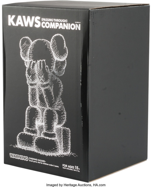 KAWS, 'Passing Through Companion (Black)', 2013, Other, Heritage Auctions