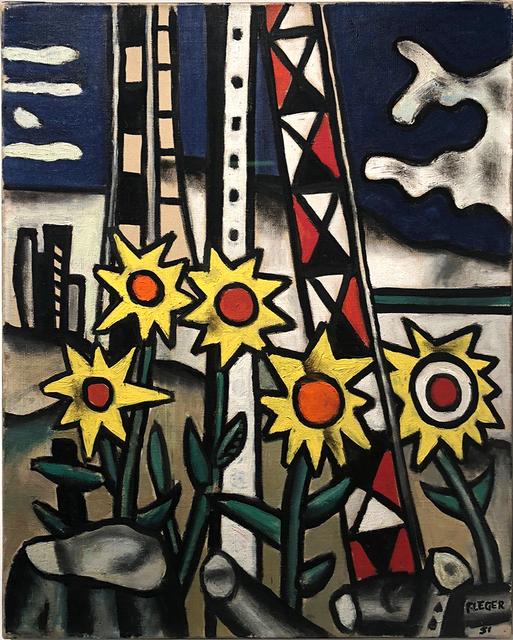 , 'Cinq Tournesois dans le Paysage (Five Sunflowers in the Landscape),' 1951, Rosenfeld Gallery LLC