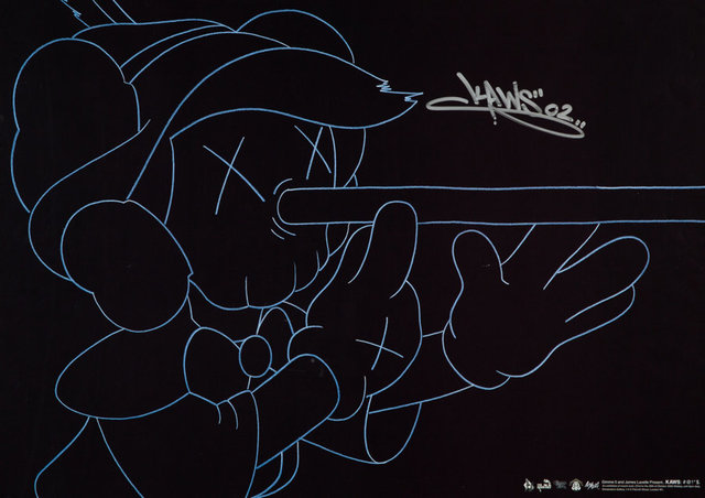 KAWS, 'Kaws: #@!*$, exhibition poster', 2002, Heritage Auctions