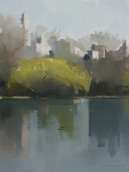 , 'Central Park Lake 1,' 2012, Kathryn Markel Fine Arts