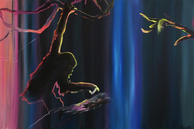 ", 'Diptych ""Preparing to Escape"" Part I,' 2015, Galerie Sandhofer"