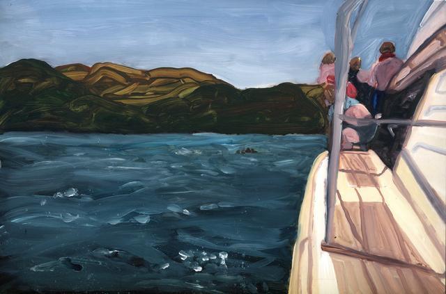 , 'on deck,' 2019, Marloe Gallery