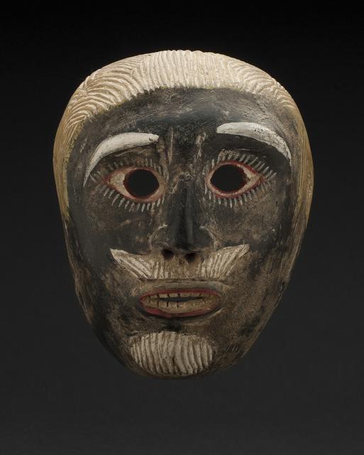 Unknown Artist, 'Mexico - Hidalgo, or Veracruz Otomi People, Juan Negro Mask, Dance of Juan Negro', ca. 1950, Cavin-Morris Gallery