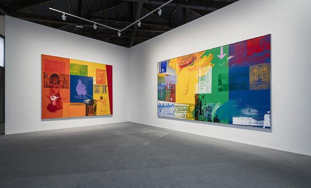 , 'Left: Courtyard (1989) Right: Catch (1993),' , Faurschou Foundation