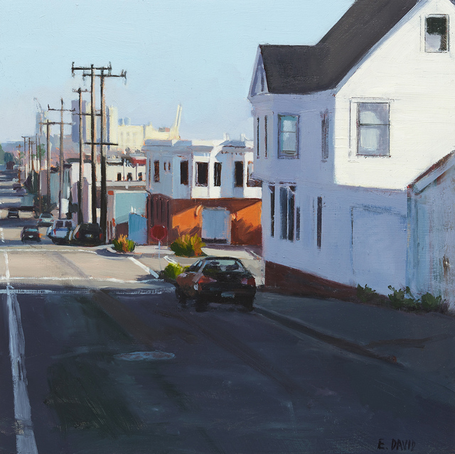 , 'Telephone Poles,' 2015, Paul Thiebaud Gallery