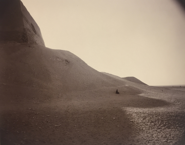 , 'Man in Pyramid Shadow, Egypt,' 1989, G. Gibson Gallery