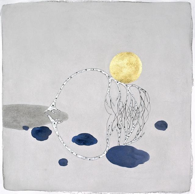 ", 'The Moon, ""merge"",' 2015, Hosfelt Gallery"