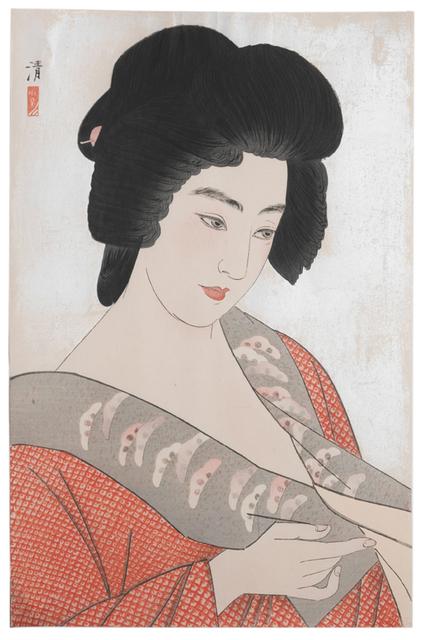 Kobayawaka Kiyoshi, 'The Geisha Ichimaru', 1933, Scholten Japanese Art