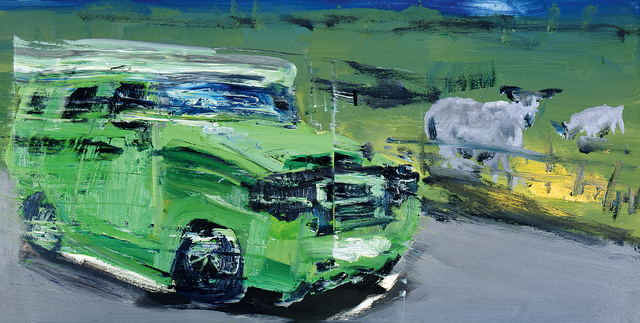 , 'Hummer und Schafe (Hummer and Sheep),' 2013, Galerie Herold
