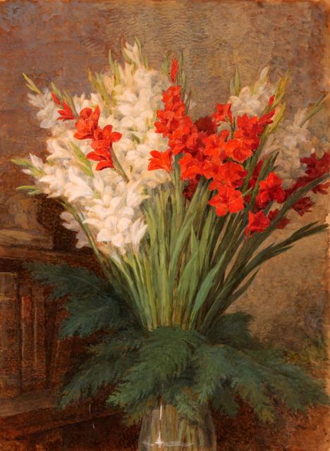 , 'Jar of gladioli,' 1910-1920, 11 [HellHeaven]