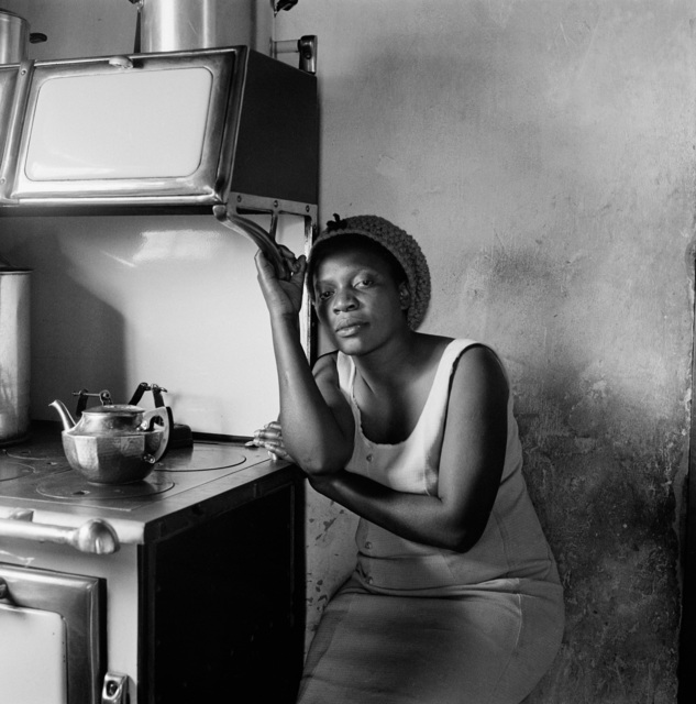 , 'Patience Poni visiting her parents Ruth and Jackson Poni, 1510A Emdeni South, Soweto,' 1972, Goodman Gallery
