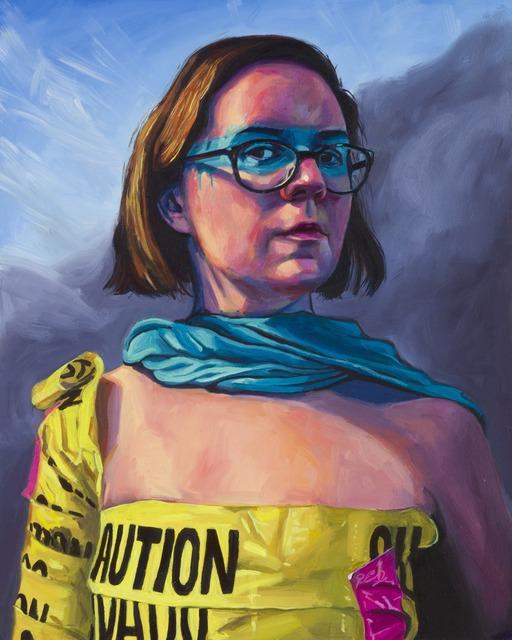 , 'Abigail Readies for War,' 2014, Childs Gallery