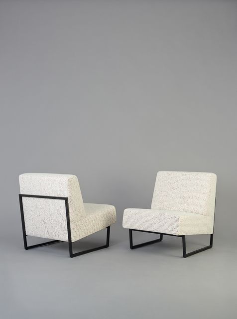 , 'Pair of chairs FG2 - Courchevel,' 1959-1960, Galerie Pascal Cuisinier