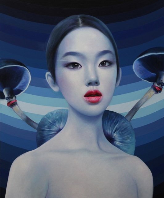 Ling Jian, 'Don't touch- poisonous mushroom |180x150cm', 2016, Australia China Art Foundation