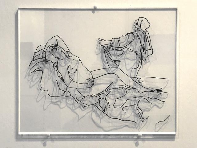 , 'Danae (after Artemisia Gentileschi),' 2018, Galleria Michela Rizzo