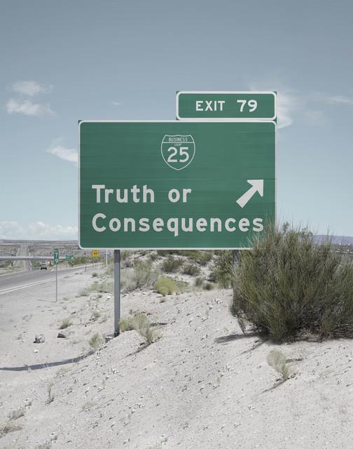 Francesco Jodice, 'Sunset Boulevard, Truth or Consequences, New Mexico ', 2017, Gazelli Art House
