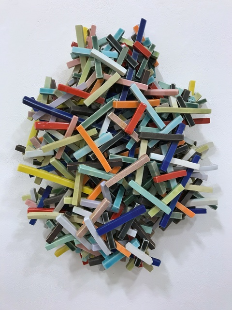 , 'Piling,' 2018, Eutectic Gallery