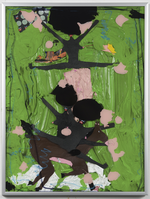 , 'Shanice, Clarice, and Monice riding through the jungle (3 bitches lost in the jungle),' 2016, Richard Heller Gallery