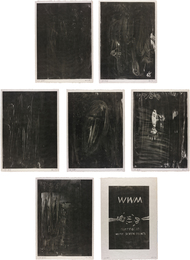 Günther Förg, 'WWM,' 1990, Phillips: Evening and Day Editions