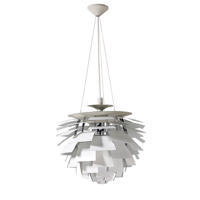 Poul Henningsen, 'Large Artichoke chandelier, Denmark', Rago