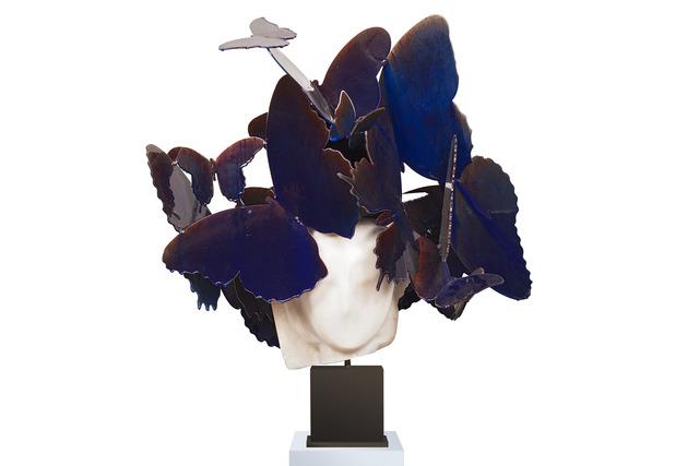 , 'Azul y Blanco IV,' 2017, Opera Gallery