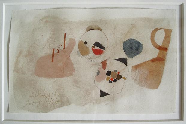 "Julius Bissier, '""A. 30. Aug. 64""', 1964, Galerie Thomas"