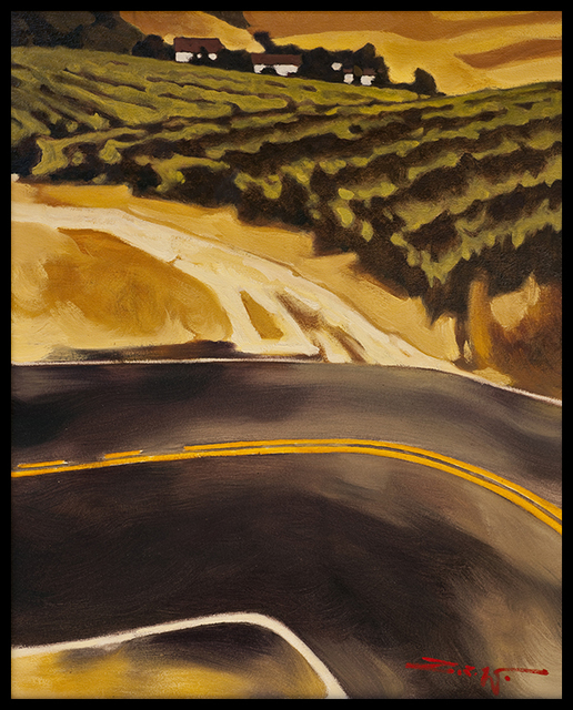 , 'Vineyard,' , Blue Rain Gallery