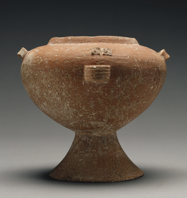 'Spherical Pyxis with Pedestal Foot of the Syros Type', 2700 BCE -2200 BCE, J. Paul Getty Museum