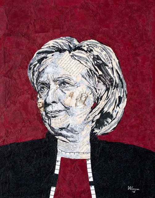 Mihira Karra, 'Portrait of Hillary', 2015, Zenith Gallery