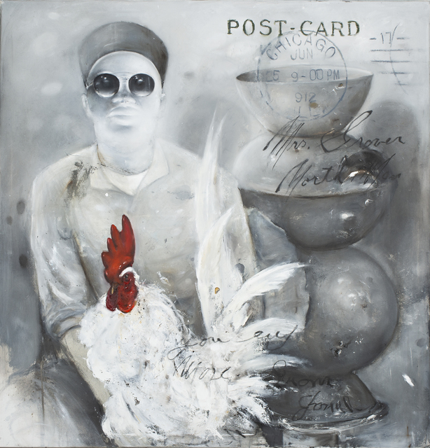 , 'RED ROOSTER,' 2018, ARTCO Gallery