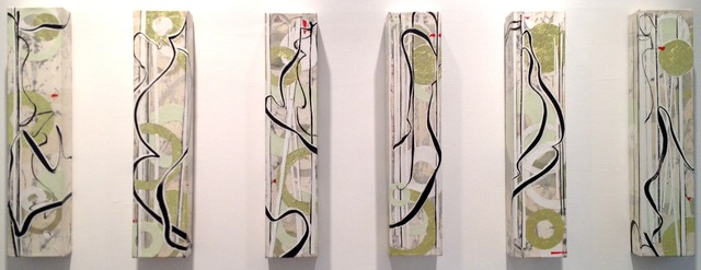 , 'Lowland Wind (6 panels),' 2012, Walter Wickiser Gallery