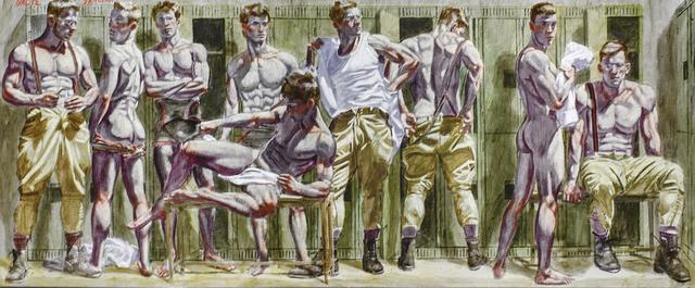 , 'Locker Room,' date unknown, Carrie Haddad Gallery