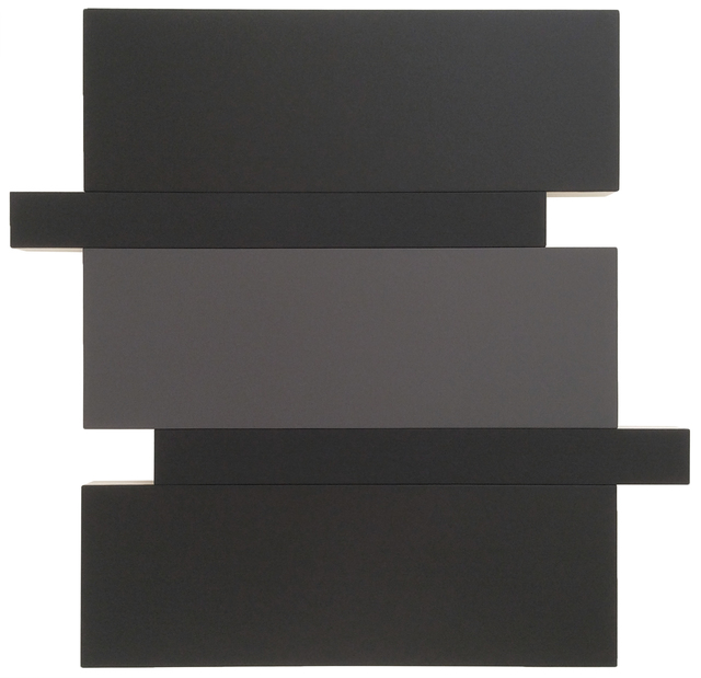, 'Stack (Black/Grey),' 2016, Peter Blake Gallery