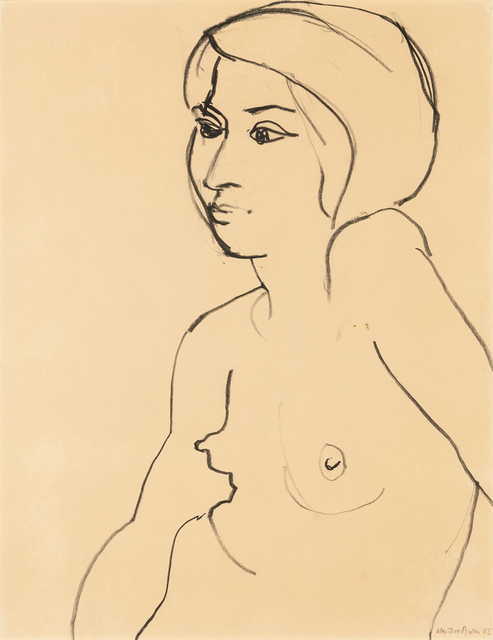 , 'Female Nude,' 1965, Brian Gross Fine Art
