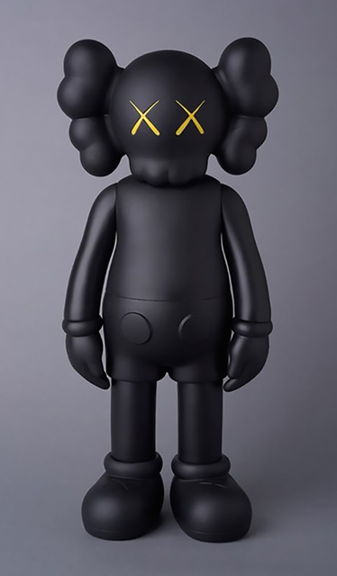 KAWS, 'KAWS Black Companion 2016 (KAWS Companion black)', 2016, Sculpture, Vinyl, Cast Resin, Lot 180