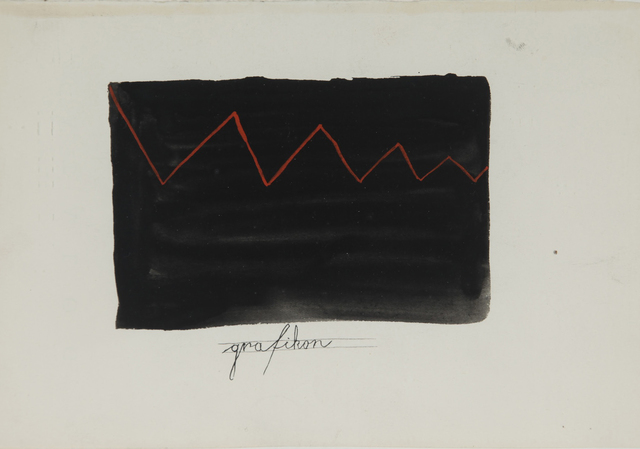 , 'Grafikon (graph),' 1951-1956, Aanant & Zoo