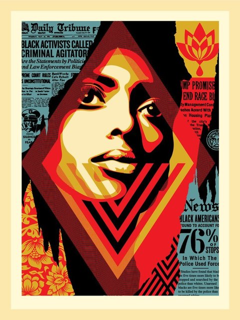 """Shepard Fairey, '""""Bias BY Numbers""""', 2019, New Union Gallery"""
