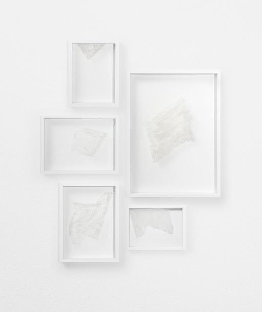 , 'D'ouvrage d'or, d'argent et soie,' 2017, Galleria Anna Marra