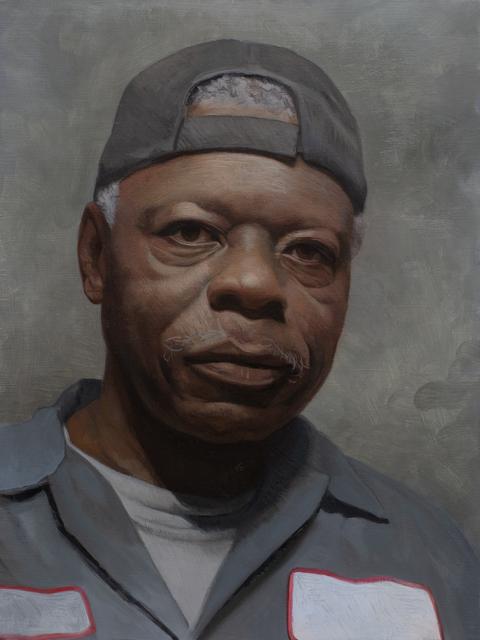 David Kassan, 'Albert', 2020, Painting, Oil, Maxwell Alexander Gallery