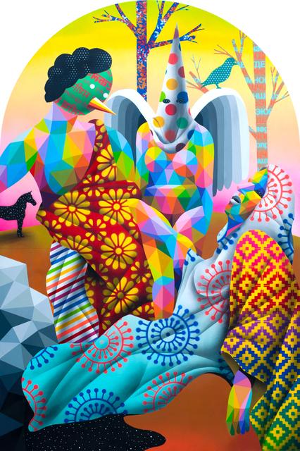 Okuda San Miguel, 'The Extasis', 2018, Art Five Gallery