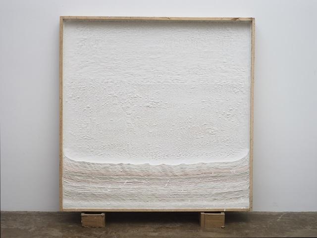 Wang Guangle, 'Untitled 20191018', 2019, Mixed Media, Wood crate, plaster, latex glue, Beijing Commune