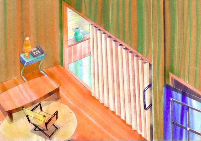 , 'room,' 2005, KAYOKOYUKI