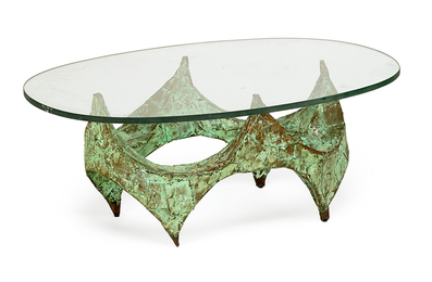 Sculptural coffee table, New Hope, PA